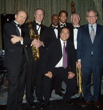 Burnett Thompson, Pete Barenbregge, Ken Rittenhouse, Eric Wheeler, Rick Lillard, Yo-Yo Ma, Bob Woodward