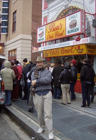 The editor at Ben's Chili Bowl