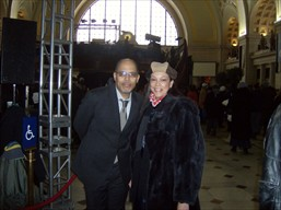 Marshall Keys and Julie Hall at Union Station Jan. 20, 2009