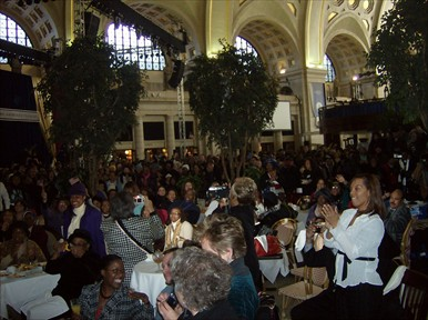 Union Station at the ceremony Jan 20,  2009