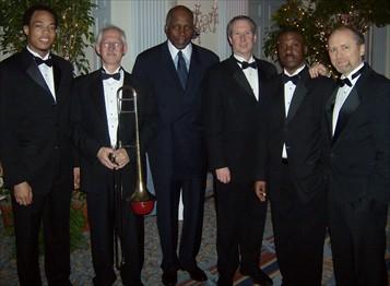 Eric Wheeler, Rick Lillard, Vernon Jordan, Pete Barenbregge, Ken Rittenhouse, Burnett Thompson